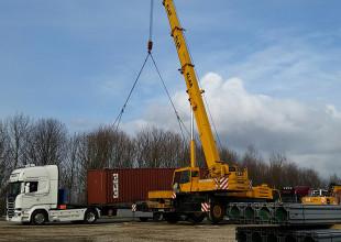 überbreite Transporte mit Jahresbewilligungen bis 3 Meter Breite